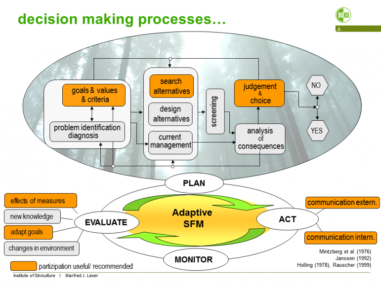 Figure 2. steps and phases of stakeholder interaction